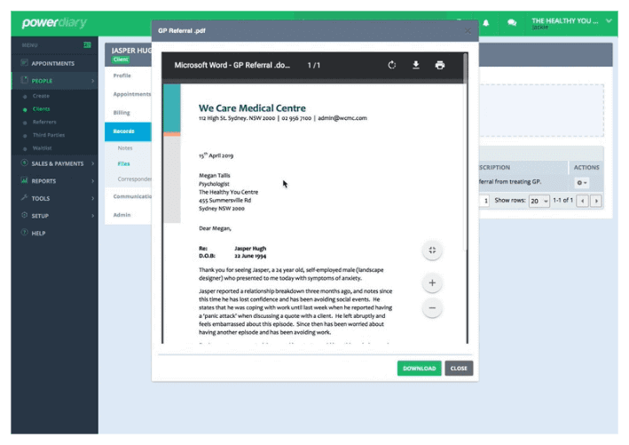 Power Diary Updates – preview client files & invoices, new diary view toolbar, and more